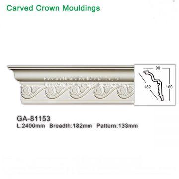 High Density Polyurethane Foam Moulding Interior for Home