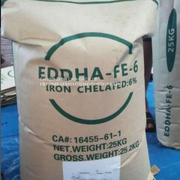 EDDHSA Fe 6% chelate Fe iron fertilizer