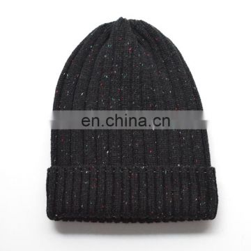 Hot China Supplier Knitted Kids Caps with Raccoon Fur Pompoms Christmas Hats