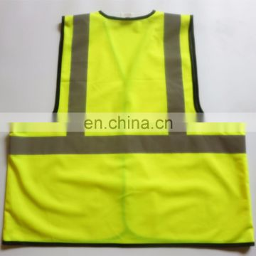 cheap fluorescent yellow , red and lime children reflective safety vest
