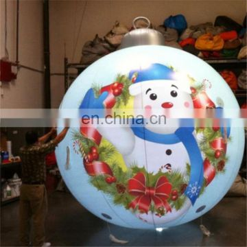 hotselling!!!2017 New Design Creative Hanging Christmas Ball Inflatable