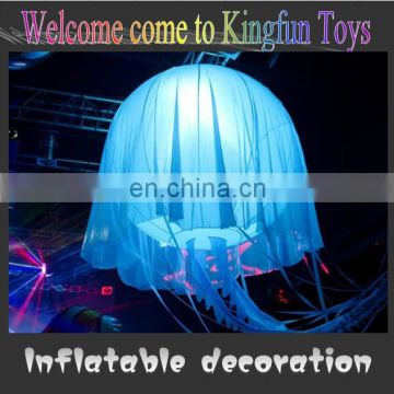 New LED inflatable jellyfish for decoration
