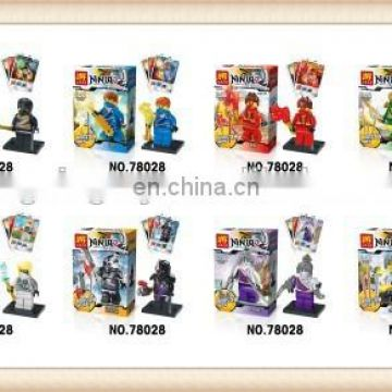 Hot sell plastic building block bricks construct toy