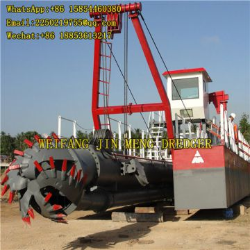 Marine Steel Cutter Suction Dredger River Sand Pumping Machine 3500 Cubic