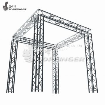 Radio hanging use concert use Aluminum truss system truss stage lighting plan truss system 350x350mmx1m