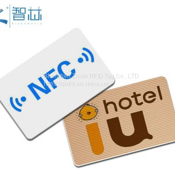 Customized Blank 13.56Mhz MIFARE 1K RFID Sticker Factory