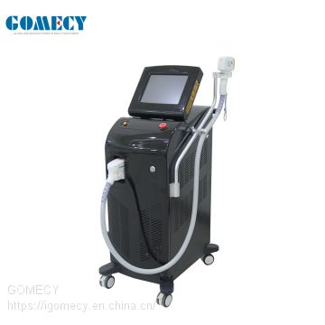 GOMECY Alma Soprano Ice Platinum laser 755 808 1064nm  diode laser hair removal machine with Soprano XL ice
