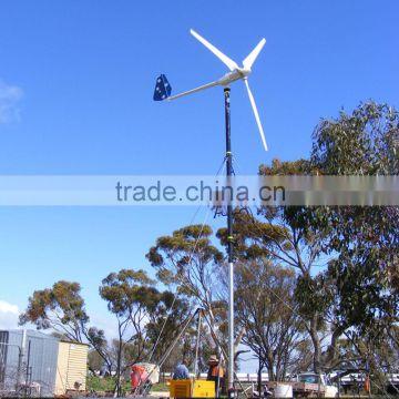 HENRYD! China wind turbine manufacture 500w 1kw 2kw 3kw 5kw
