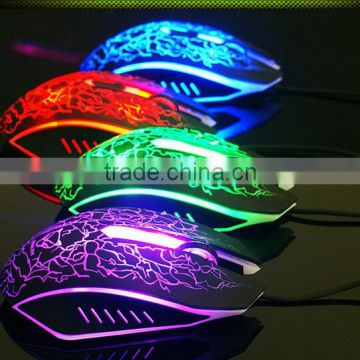 Colorfur LED Ergonomic Drivers USB 6D Gaming Mouse of Mouse