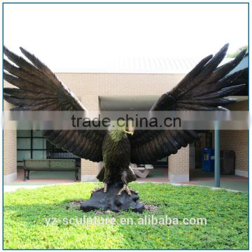 Large Size Bronze Eagle Statues for Grden Decoration