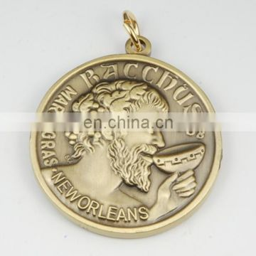 Top sell factory price custom sport Gold Silver Bronze Award medal Medallions