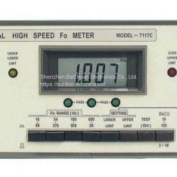 SUNLILAB Digital High Speed Fo Meter 7117c