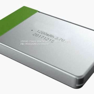 3.7V 1200mAh Low temperature polymer lithium battery for Aeronautical measurement and control