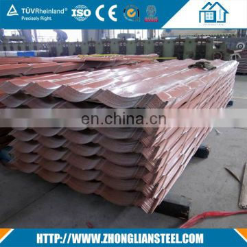china galvanized  corrugated steel sheet roofing