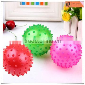 mini multicolored bouncy house knobby ball play,custom mini bouncy house ball toys,OEM sticker ball toys Shenzhen factory