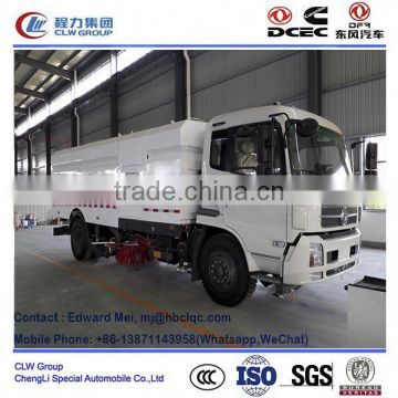Dongfeng 4*2 4*4 type 180hp~210Hp 13 ton road sweeper truck