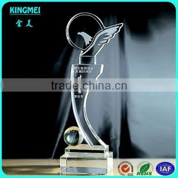 Hot Most Popular Crystal Star Glass Trophynew Design Trophy