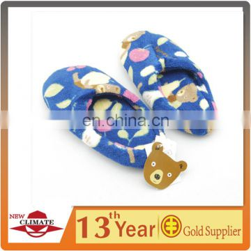 New style cheap polar fleece indoor slipper