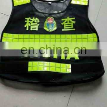 New arrive high reflective workwear sfety vest custom