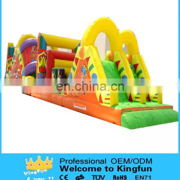 Attractive inflatable obstacle toy, popular inflatable obstacle course