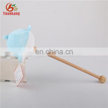 Wholesale plush stuffed dolphin toys body massgae hammer for sale