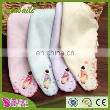 Wholesale Embroidery Designs 100% Cotton cute Baby Towel
