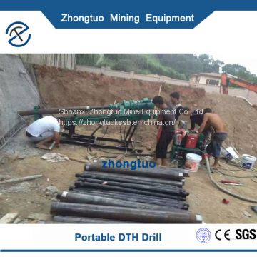 QD-100 Pneumatic DTH Drilling Rig|factory price in promotion