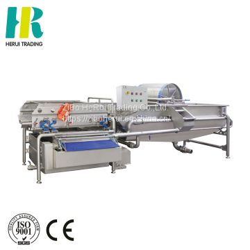 Fruit and vegetable washing integrated machine