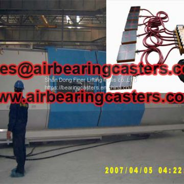 Air bearing casters price list with details