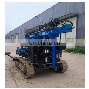 High efficiency hammer pile diver guardrail & installation screw pile machine driver