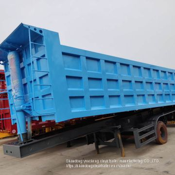 High Strength 3axles Tipper Dumper Dump Truck Semi Trailer