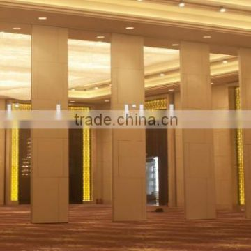 china manufacturer aluminium high quality folding pvc door partition for museum