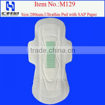 Anion Sanitary Napkin Manufacturer of Sanitary Napkin Brands in China with Soft Compound Cover