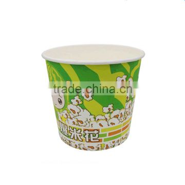 China Factory Hot Sale One Time Popcorn Paper Cup