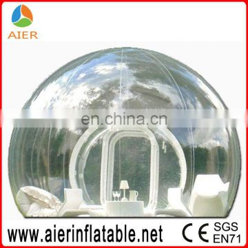 Family used popular inflatable clear bubble tent