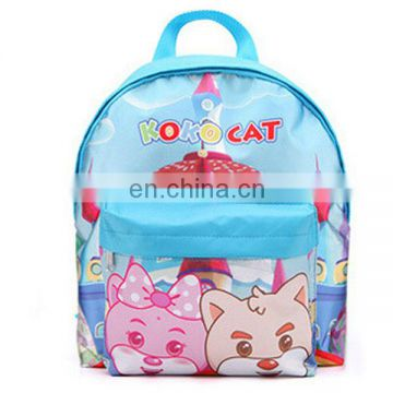 Blue cartoon bag with boy's style can with your brand