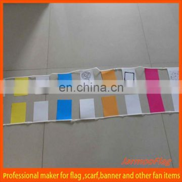 advertising paper bunting flag line