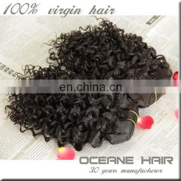 Quick express hot-selling price short curly brazilian hair extensions