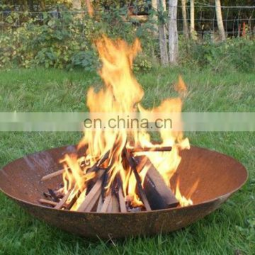 80cm 100cm 120cm Cheap Steel Bowl Fire Pit Corten Rustic Fire Bowl