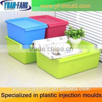 customer design injection Bin plastic mold/OEM Custom Mold