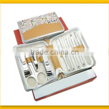 Professional Colorful Bag Girls Manicure Kit