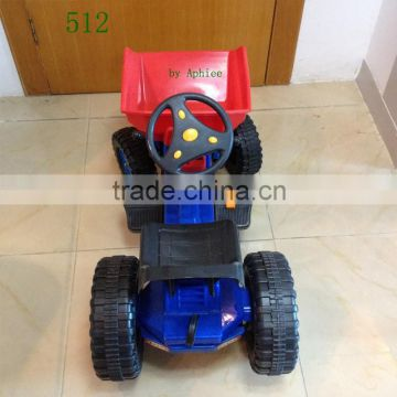 wholesale children bike ride on electric toy battery power classic kids baby car tricycle mini dumper 512