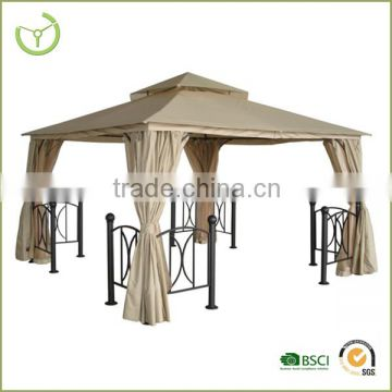 Gazebo with curtain made in China outdoor furniture