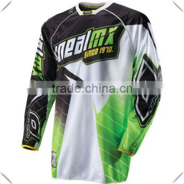 21f613553e1 Fashion Design Custom Printed Mens Motocross Jersey 100% Polyester Mesh  Dri-Fit T Shirt Full Sublimation Long Sleeve Jersey