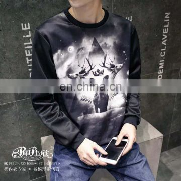 New Desigh Printing Space Cotton Sweatshirt Hoody for Men