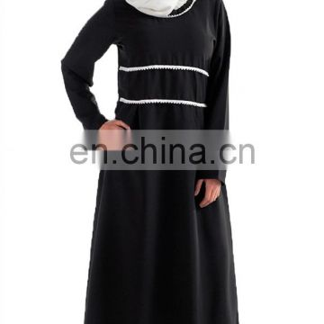 Beautiful casual and occasional dress Black A Line Abaya dress for women
