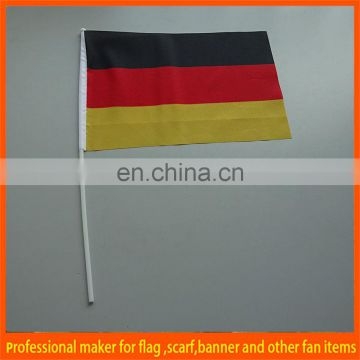 national black red yellow hand flag
