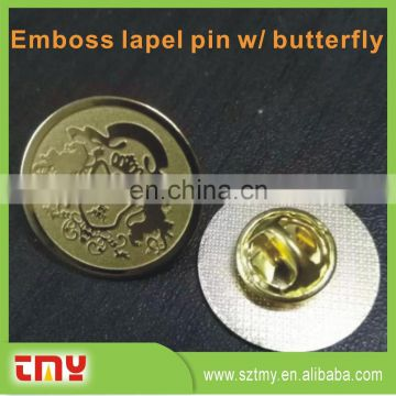 Bulk Gold Flower Metal Lapel Pin ,Custom Masonic Lapel Pins No Minimum, Magnetic Lapel Pin Manufacturers China