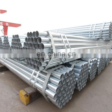 Construction scaffolding 2.5 inch galvanized pipe promotion