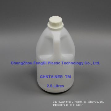 1/2 Gallon 2.5L Round handled Bottle
